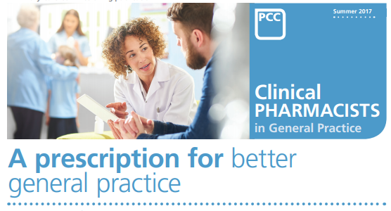 Case Studies of Practice Pharmacists confirm the value and integral role they play in general practice