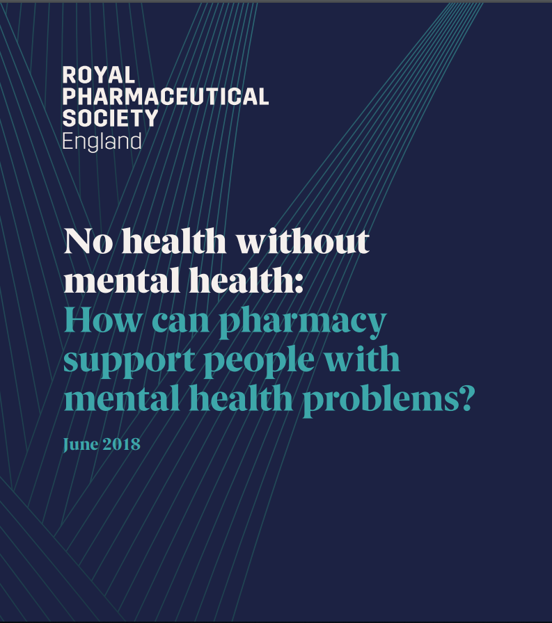 The #RPSmentalhealth report has been launched at the House of Commons by the RPS